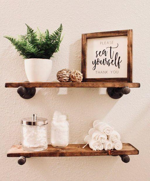 36+ Floating Shelves for Bathroom Reviews & Guide