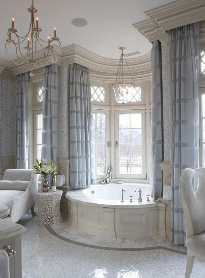 37+ Top Bathroom Drapery Ideas Secrets
